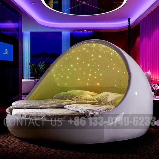 2020 Latest Design Commercial Sex Bed Furniture for Theme Hotel