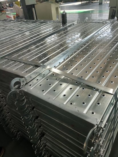 Galvanized Steel Plank & Stair Case Scaffold Platform Boards Trestle Scaffold Props pictures & photos