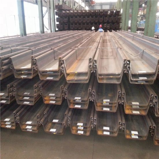 Q235 Q345 Sy295 Steel Sheet Pile U Type Hot Rolled Larssen Steel Sheet Pile