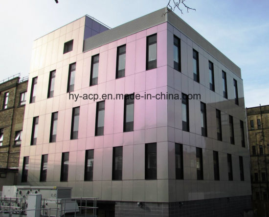 Chameleon Colors Aluminum Composite Panel For Exterior Wall