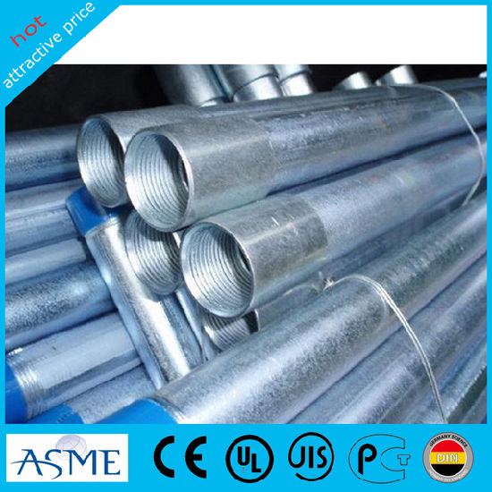 3.0mm Thickness 114mm Round Gi Pipe Galvanized Steel Pipe
