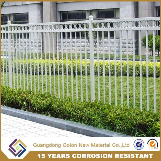 Cheap Easily Assembled Aluminum Garden Fence Panels