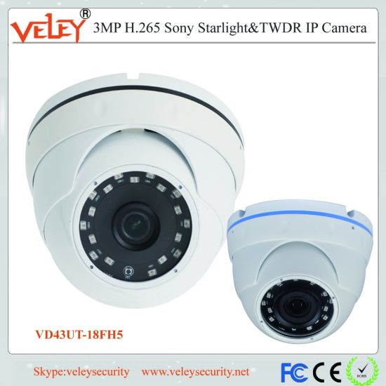 Outdoor Dome IP Camera CCTV Camera Manufacturer in China OEM pictures & photos