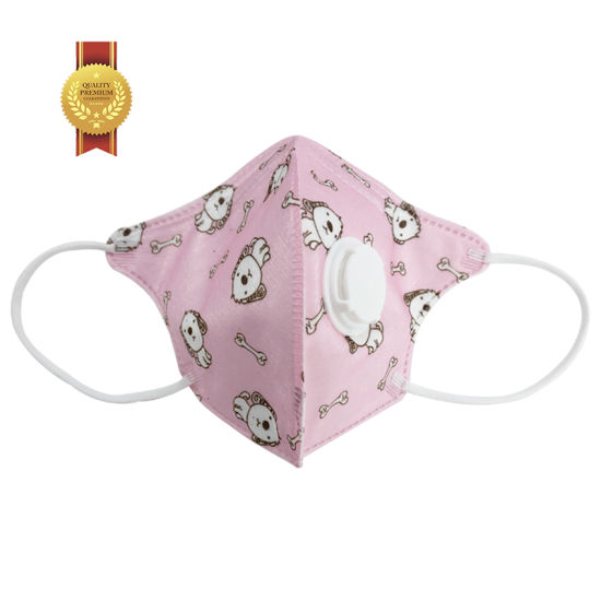 High Quality 4 Ply Earloop Custom Disposable Printed Face Mask
