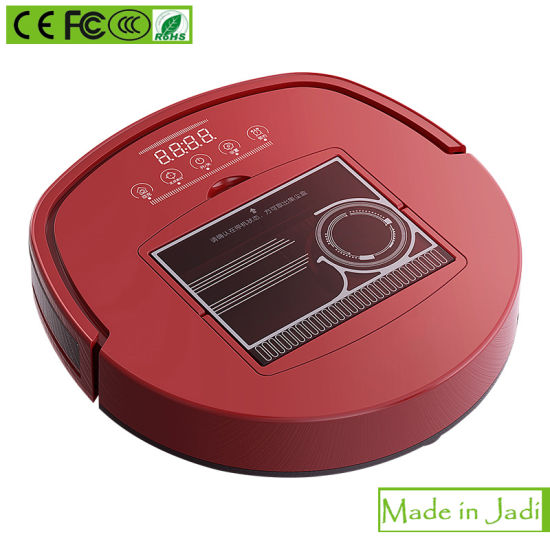 Cyclone Filter System Smart Robot Vacuum Cleaner pictures & photos