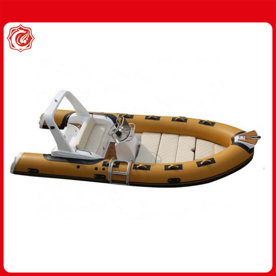 Ce Certificate 17FT 5.2m Rib Inflatable Fishing Boats with Outboard Motor for Sale