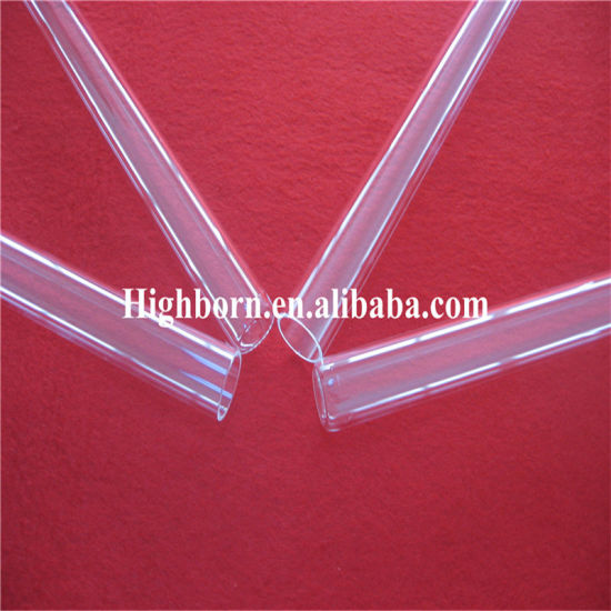 Hot Selling Clear Quartz Tubing for UV Lamps pictures & photos