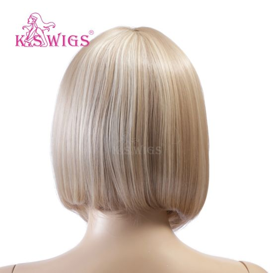 Fashion Synthetic Hair Machine Wig Japanese Fiber pictures & photos