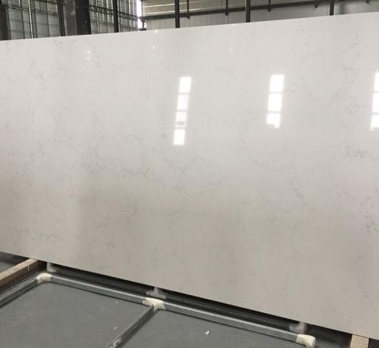 Carrera White Orion Quartz Table Tops