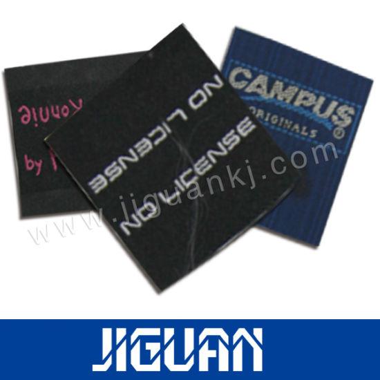 Custom Printed Garment Cloth Woven Fabric Label
