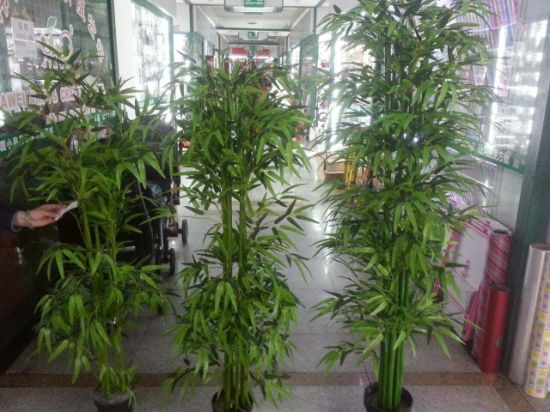 140cm 4 Trunks Decorative Bamboo Artificial Plant pictures & photos