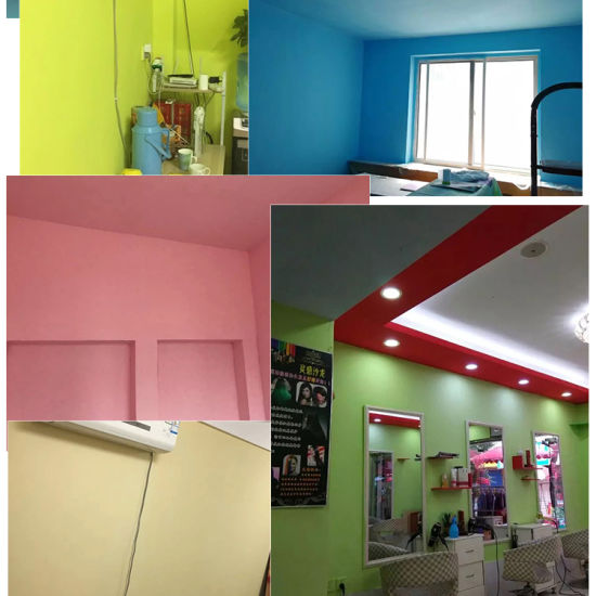 Washing Resistance Stain Resistance Pure Acrylic Emulsion House Interior  Wall Paint