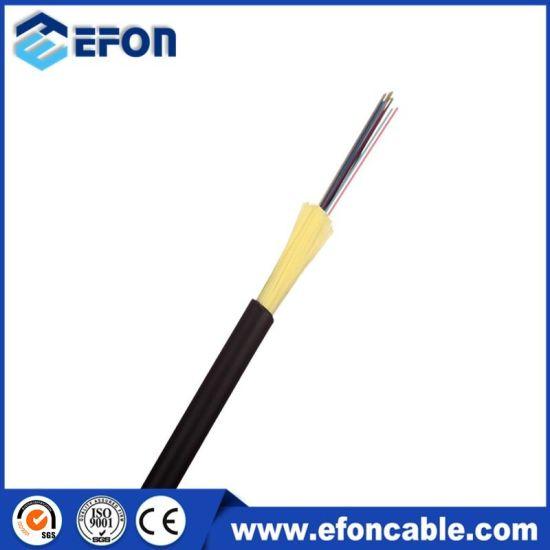 LSZH Jacket Kevlar Yarn Armor 4 Core Micro Drop Fiber Optic Cable