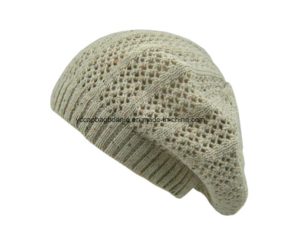Fashion Ladies Crochet Knitted Beanie Beret Slouchy Beanie pictures & photos
