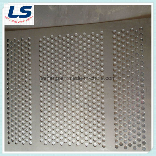 High Quality Round Hole Perforated Metal