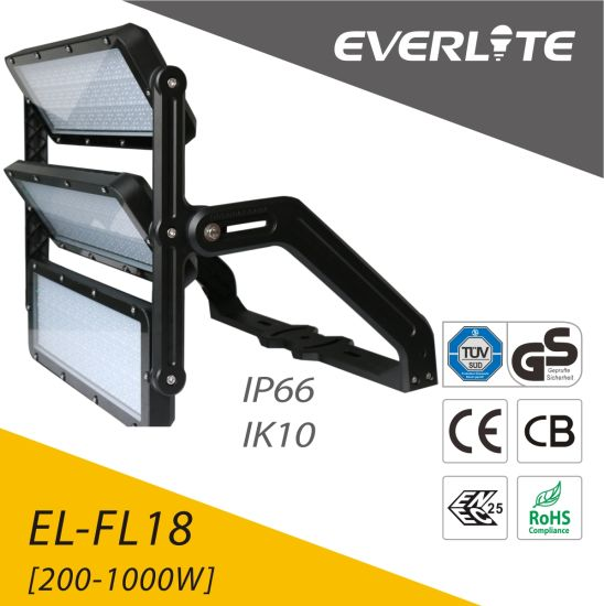 Stadium Sports Lighting 1000W LED Flood Light Volleyball Court Floodlight pictures & photos