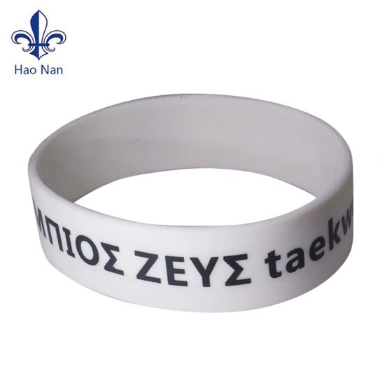 Hot Sales Silicone Wristband with Custom