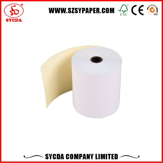 2ply Carbonless Paper Roll Made in China