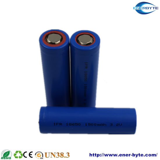 3.2V1800mAh LFP Battery / Lithium Ion/ Li-ion Battery Cell 18650 Cell