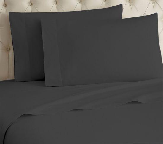 China 350tc 100 Cotton Sheet Set Soft Sateen Weave Queen Sheets