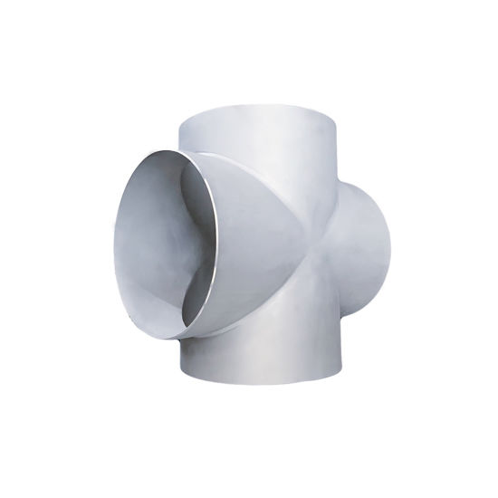 Factory Price 304/316L Rolling Sand Pipe Fitting Joint Straight Cross
