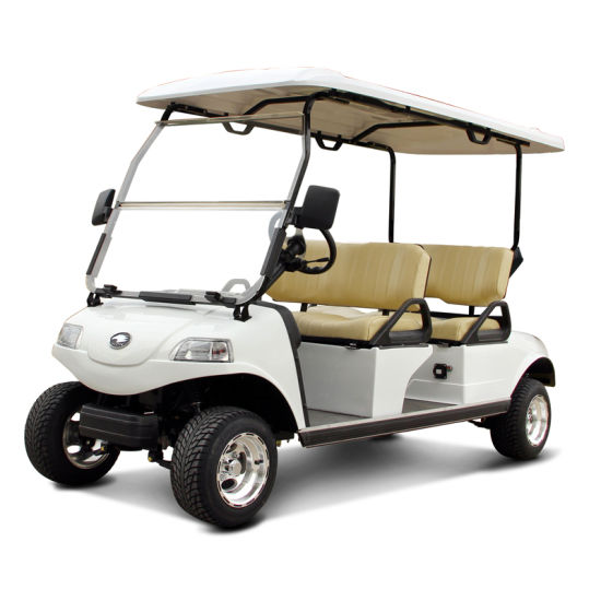 4seat Golf Cart with Solar Panels