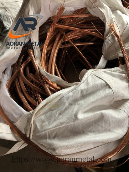 Copper Scrap Wire 99.99% in Accordance with International Standards