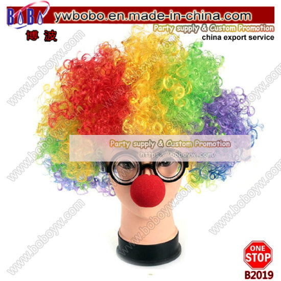 Novelty Headwear Party Bow Tie Fancy Dress Clown Soccer Fans Products Party Wig Party Service (B2019) pictures & photos