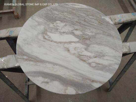 Good Volakas Marble Custom, Marble Round Table Top