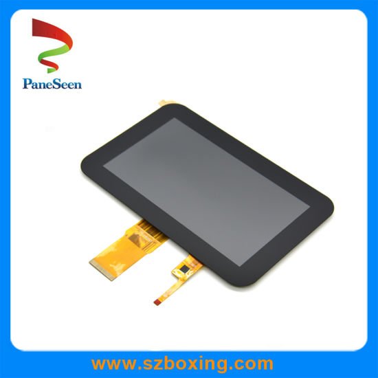 """7"""" 1024*600 Resolution LCD Touchscreen Display for Interactive Device"""