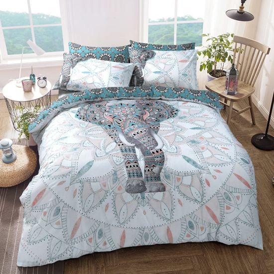 Yugland Wholesale Modern Home Textile Microfiber Winter Printed Quilt Cover Bedding Set