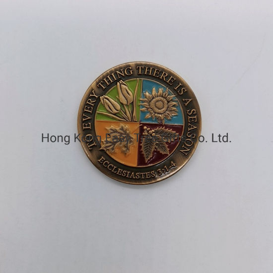 Cheap Price Custom High Quality 3D Embossed Coin