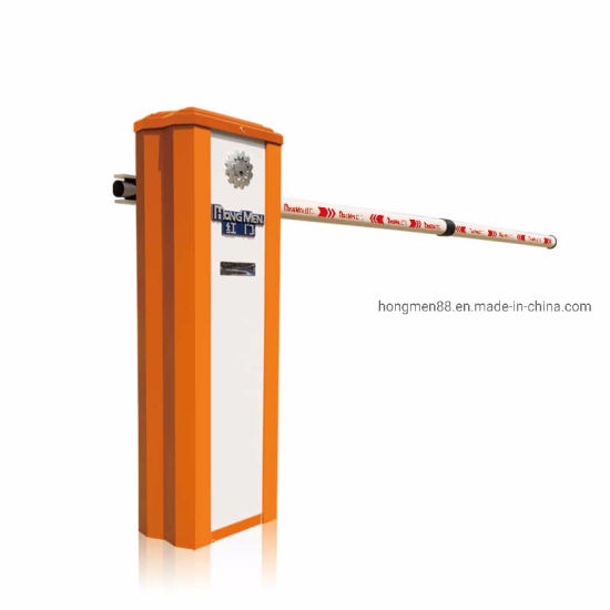 Parking Vehicle Access Control Straight Boom Automatic Barrier Gate