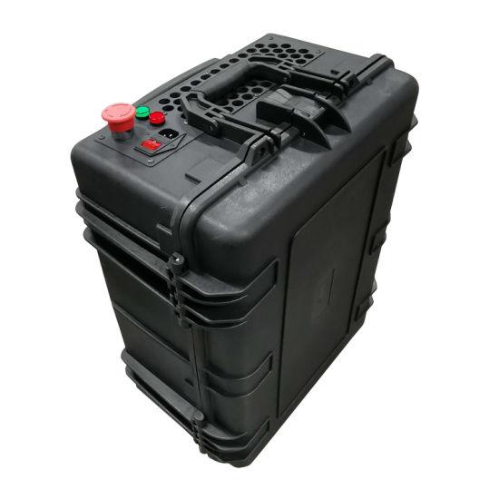 Jpt 100W Mopa Portable Trolley Case Fiber Laser Cleaning Machine Price