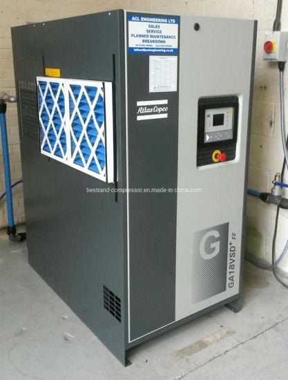 Atlas Copco Ga Series Screw Air Compressor Ga18vsd Ga22vsd Ga26vsd China Air Compressor Compressor Made In China Com