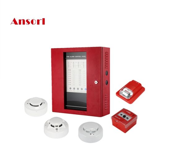 AS-BFP Series Fire Alarm Control Panel 4/8/16 Zones