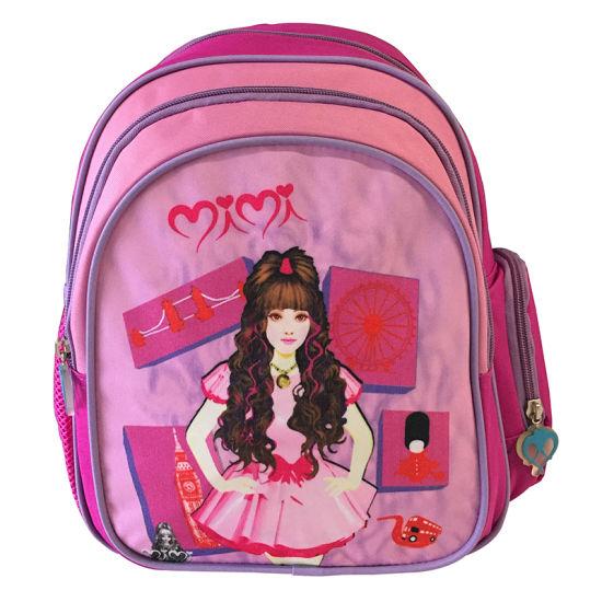 Kindergarten Double Shoulder Bag Cute Backpack Child Bag Girl Cartoon Bag