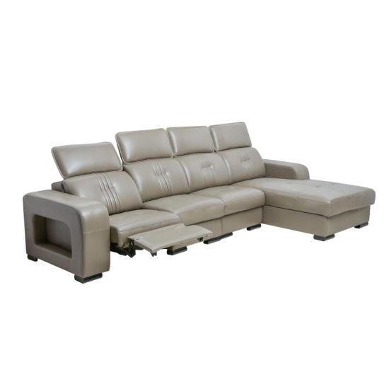 Wholesale Modern Furniture Real Sofa Living Room Genuine Leather Chinese Sofa