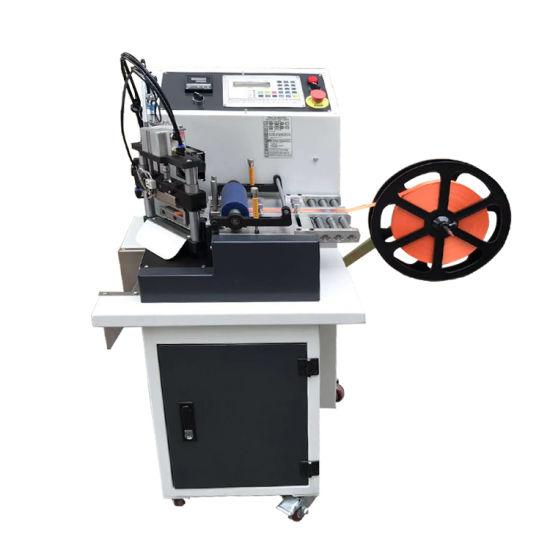 Wl-610 Automatic Multi-Angle Tape Cutting Machine Microcomputer Ribbon Tape Cutting Machine with 45 Degree Angle