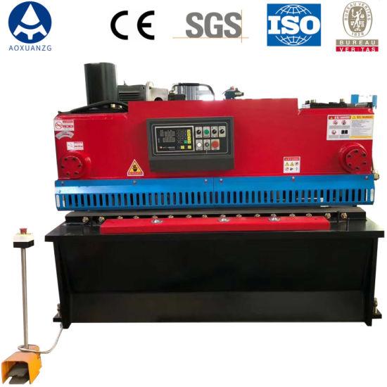 New Small Hydraulic CNC Plate Shearer, Guillotine Shearing Machine QC11K-6*1600