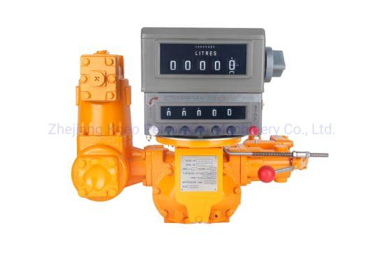 Preset Industrial Positive Displacement Flow Meter M-50-K