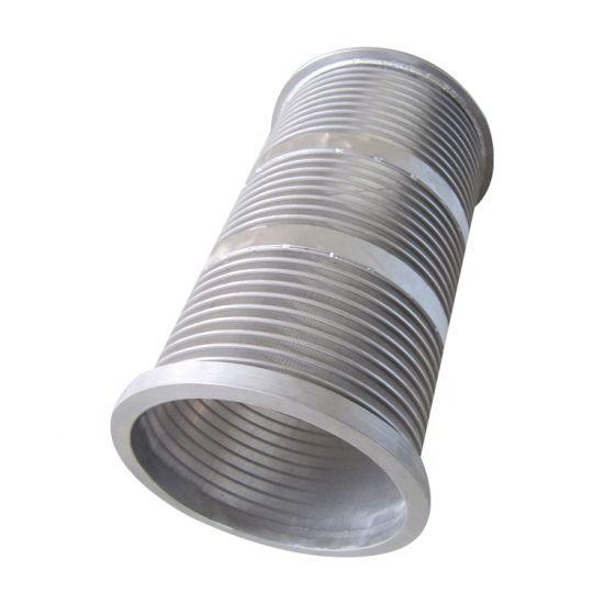 Stainless Steel 304 316 Sieve Cylinder Johnson Welded Wedge Wire Screen