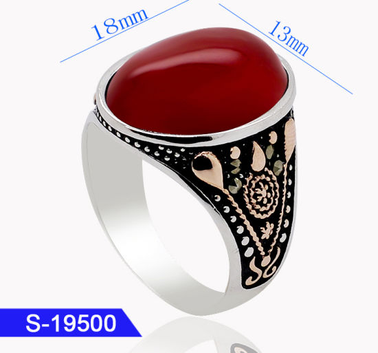 585f3e8194 Latest Design Marcasite Personalized Fashion Jewelry 925 Sterling Silver  Mens Rings Online for Sale pictures &