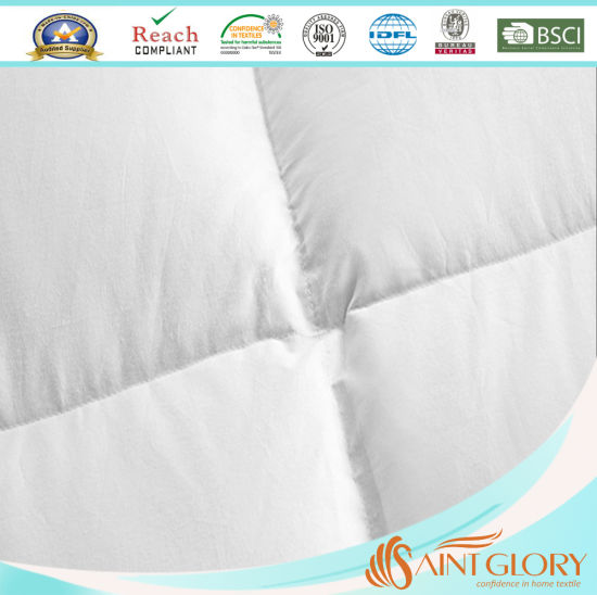 Hotel Eiderdown Feather and Down Mattress Pad Topper pictures & photos
