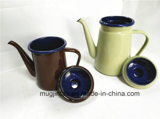 Enamel Kettle Water Jug Tea Pot Water Bottle pictures & photos