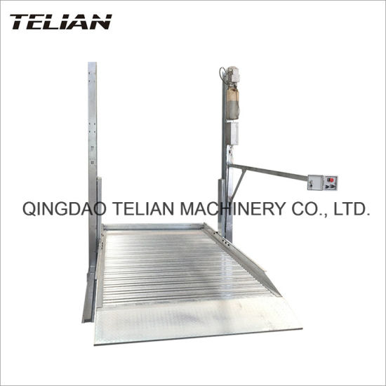 2000kg Capacity Single Cylinder Two Post Car Parking Lift