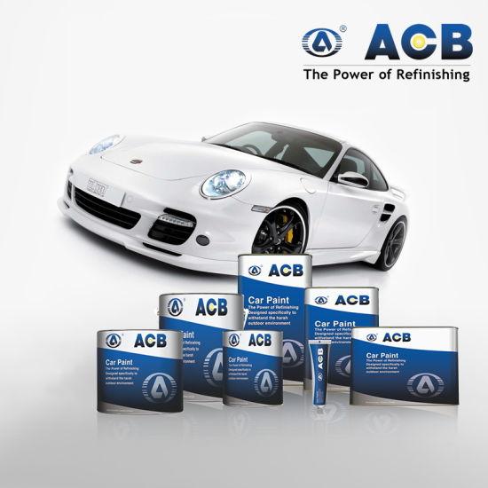 China Acb Slow Dry Thinner Metallic Blue Car Paint China Car Paint