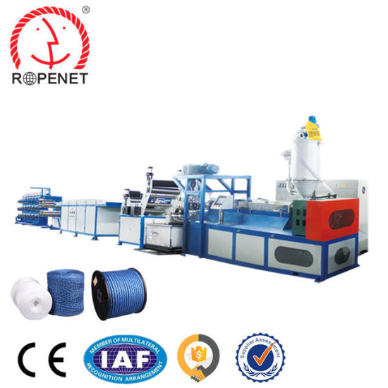 Multifunctional PP Blown Lacerated Film Rope Making Machine with Ce Certificate