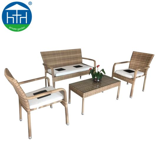 Big Loading Ability Wholesales Outdoor Furniture Rattan Sofa