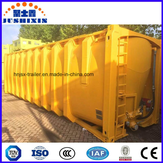 China ISO Pressure Tank Container Commercial Plaster Powder Storage